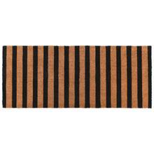 See Details - Doormat Striped Black/Natural 24x57