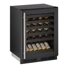 "1224wc 24"" Wine Refrigerator With Black Frame Finish (115 V/60 Hz Volts /60 Hz Hz)"