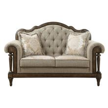 See Details - Love Seat with 2 Pillows