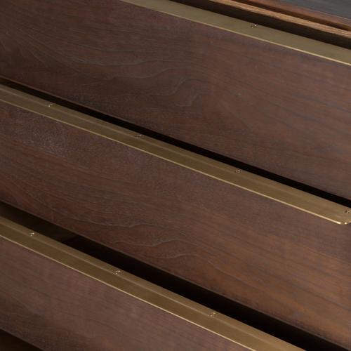 Four Hands - Billy 5 Drawer Dresser-dark Walnut