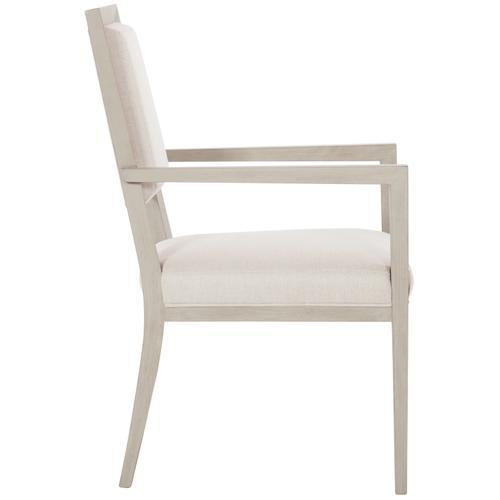 Bernhardt - Axiom Arm Chair in Linear Gray (381)