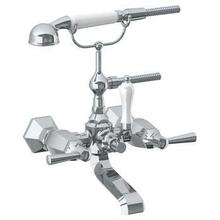 View Product - Wall Mounted Exposed Bath Set With Hand Shower