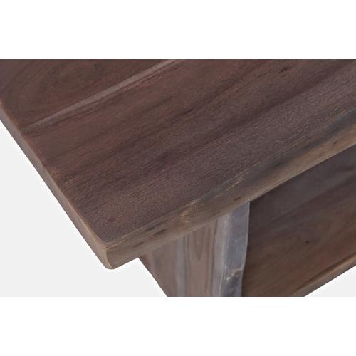 Jofran - Global Archive Cooper Slate Storage Bench-52x16x18