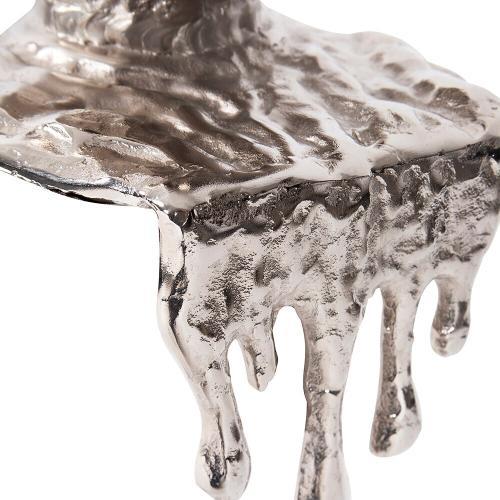 Howard Elliott - Nickel Molten Aluminum Vase