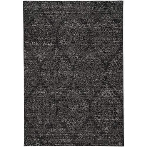 "Quarry Black Grey - Rectangle - 3'11"" x 5'6"""