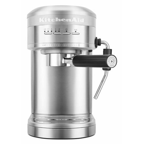 KitchenAid Canada - Metal Semi-Automatic Espresso Machine - Brushed Stainless Steel