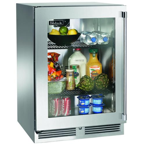 "OUTSTANDING VALUE-OUTSTANDING PRICE!!! PERLICK PREMIUM REFRIGERATION - 24"" Outdoor Refrigerator- CUSTOMER NEEDED SLIM LINE MODEL - FULL WARRANTY"