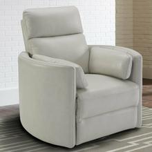 View Product - RADIUS - FLORENCE IVORY - Powered By FreeMotion Power Cordless Swivel Glider Recliner