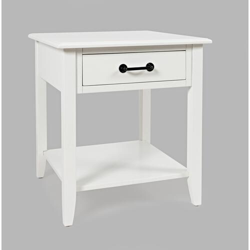 North Fork End Table W/ Drawer