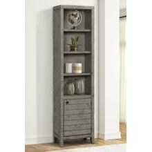 TEMPE - GREY STONE 22 in. Open Top Bookcase