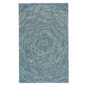 Orbit Blue - Rectangle - 5' x 8'