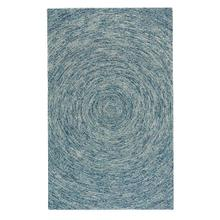 Orbit Blue - Rectangle - 5' x 8'
