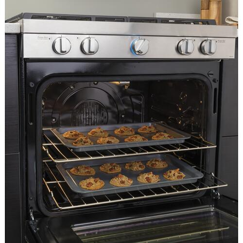 "30"" Smart Slide-In Electric Range with Convection"
