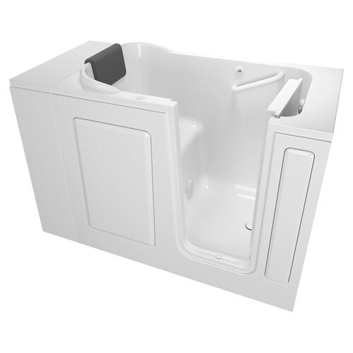 American Standard - Premium Series 28x48-inch Air Massage Walk-in Bathtub  Right Drain  American Standard - White