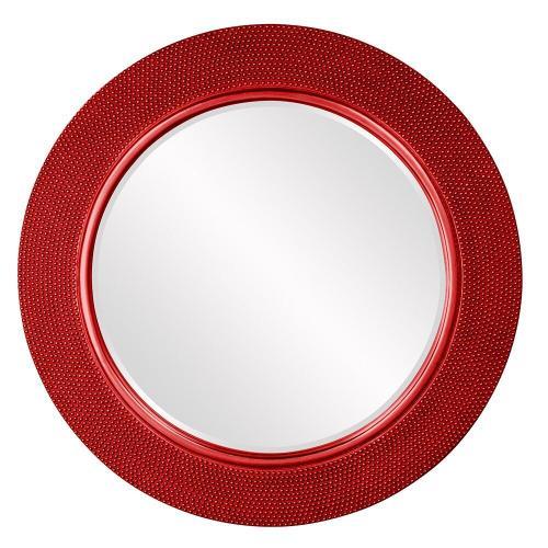 Howard Elliott - Yukon Mirror - Glossy Red