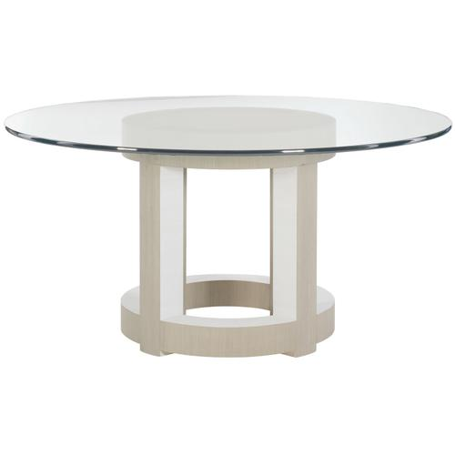 """Axiom Round Dining Table (60"""") in Linear Gray (381)"""