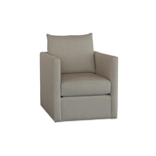 See Details - Beckham Outdoor Swivel Chair