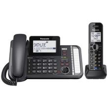 2 -Line Corded/Cordless Expandable Link2Cell Telephone System with 1 Cordless Handset KX-TG9581