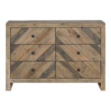 See Details - Teigen 6 Drawer Dresser