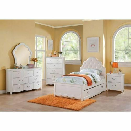 ACME Cecilie Twin Bed - 30310T - White
