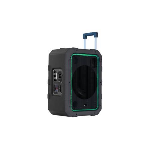 Gemini IPX4 Weather Resistant Trolley Speaker - Gray