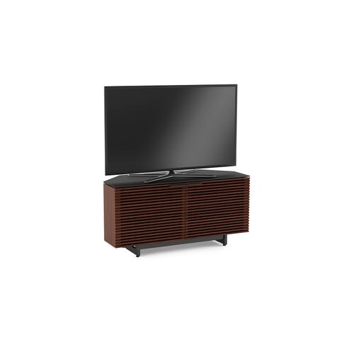 BDI Furniture - Corridor 8175 Corner Media Cabinet in Chocolate Stained Walnut