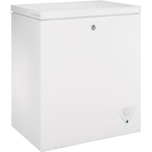 GE Appliances - GE® 5.0 Cu. Ft. Manual Defrost Chest Freezer