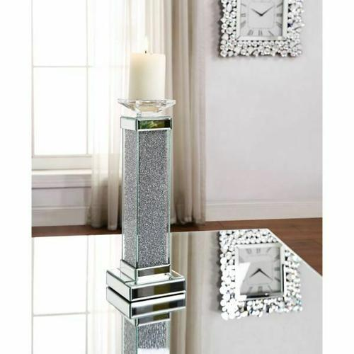 ACME Rekha Accent Candleholder (Set-2) - 97616 - Mirrored