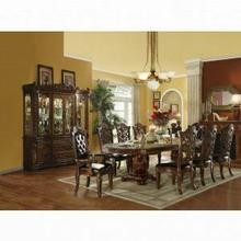 ACME Vendome Dining Table w/Double Pedestal - 60000 - Cherry