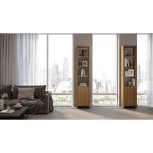 View Product - Linea Shelves 5801 Single Shelf in Natural Walnut