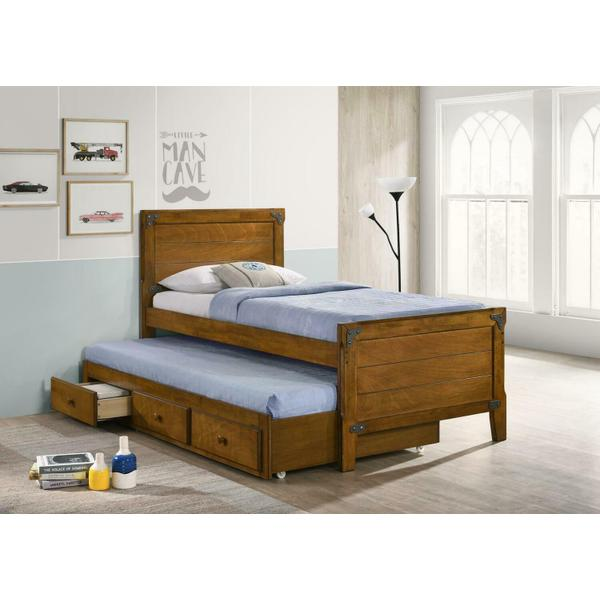 See Details - Twin Bed W/ Trundle