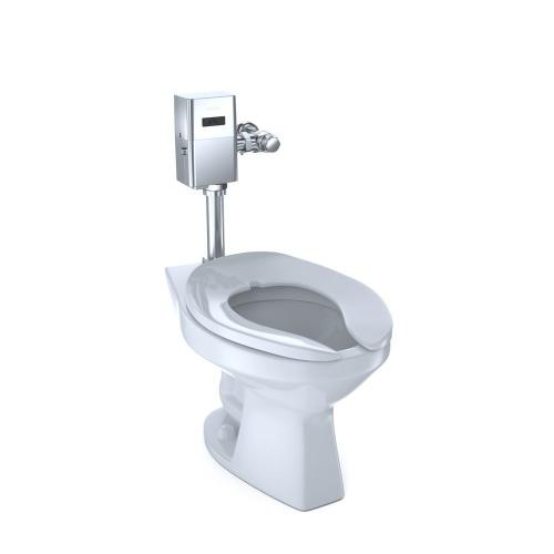 Commercial Ultra-High Efficiency Toilet, 1.0 GPF, Elongated Bowl (Reclaimed Water Option) - Cotton