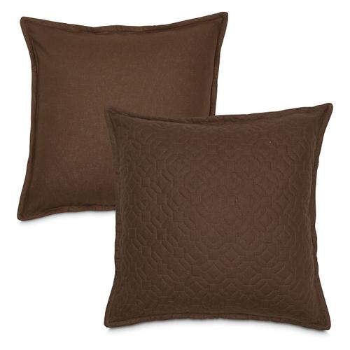 3 pc King Coverlet/Duvet Set Cocoa