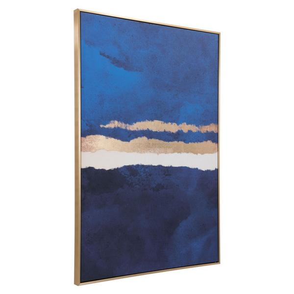 Ocean Horizon Canvas Multicolor