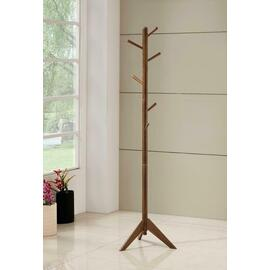 See Details - Traditional Brown Coat Rack