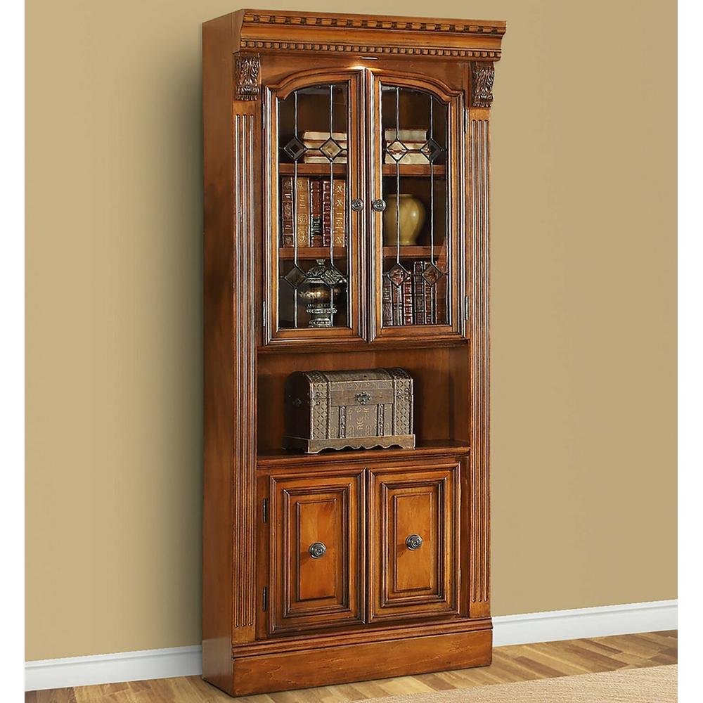 See Details - HUNTINGTON 32 in. Glass Door Cabinet