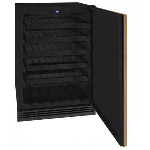 "Hwc124 24"" Wine Refrigerator With Integrated Solid Finish (115v/60 Hz Volts /60 Hz Hz)"