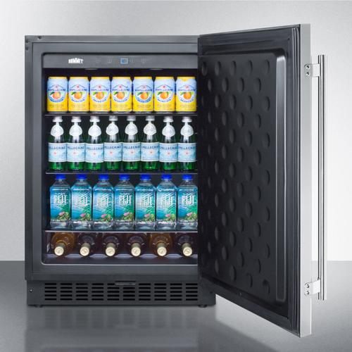 "Summit - 24"" Wide Outdoor All-refrigerator"