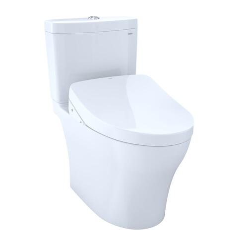 Aquia® IV - WASHLET®+ S550e Two-Piece Toilet - 1.28 GPF & 0.8 GPF - Cotton