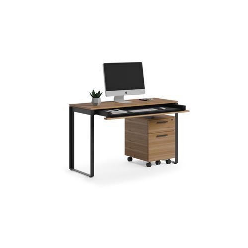 BDI Furniture - Linea 6222 Console Desk in Natural Walnut