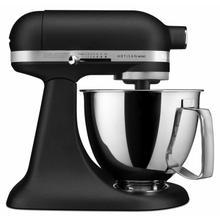 See Details - Artisan® Mini 3.5 Quart Tilt-Head Stand Mixer - Cast Iron Black