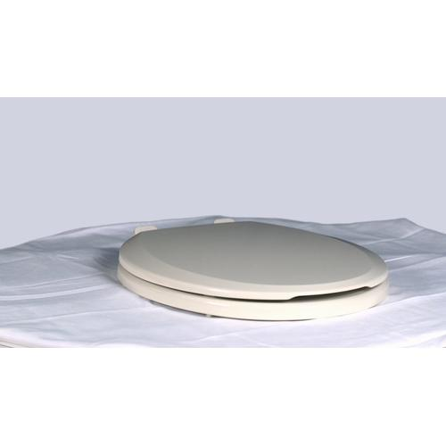 Easy Lift and Clean Round Front Toilet Seat - Bone