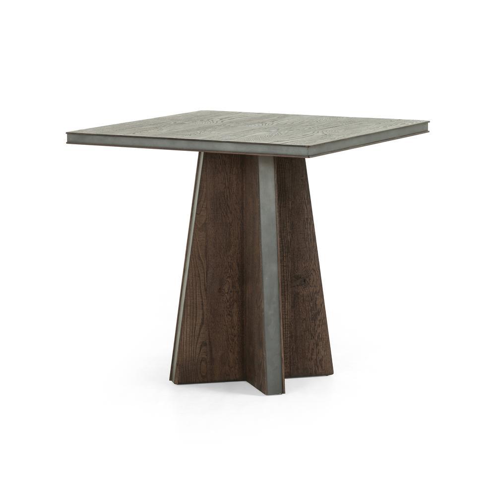 Hinton Bistro Table-rustic Brown