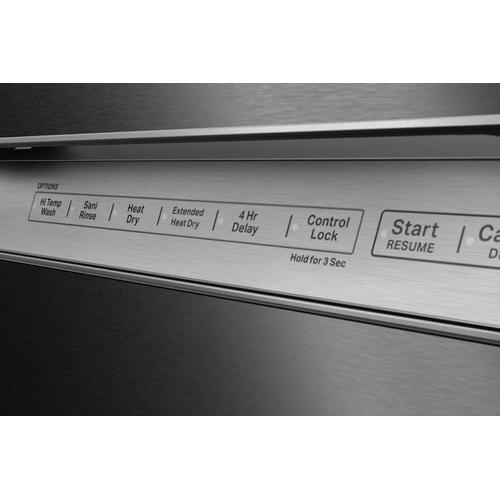 KitchenAid - 47 dBA Two-Rack Dishwasher in PrintShield™ Finish with ProWash™ Cycle - Stainless Steel with PrintShield™ Finish