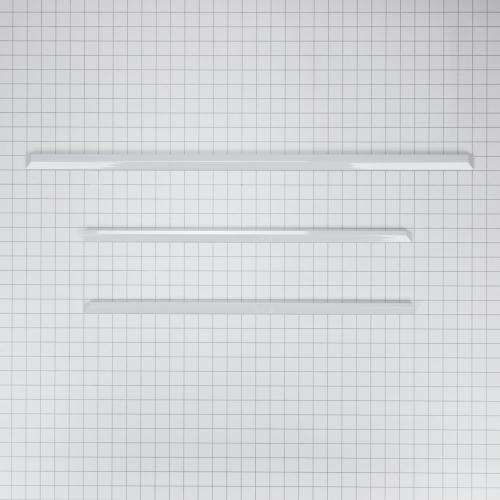 Slide-In Range Trim Kit, White