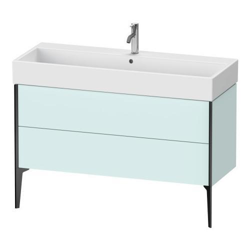 Vanity Unit Floorstanding, Light Blue Matte (decor)