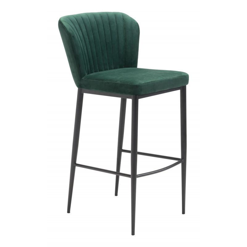 Tolivere Bar Chair Green