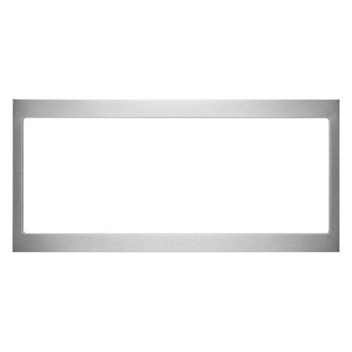 Built-In Low Profile Microwave Slim Trim Kit, Stainless Steel