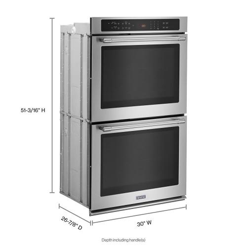 Maytag Canada - 30-INCH WIDE DOUBLE WALL OVEN WITH TRUE CONVECTION - 10.0 CU. FT.