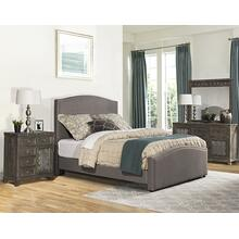 Kerstein Cal King Bed Set - Orly Gray